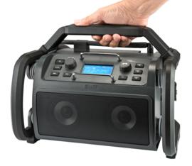 Audisse Shokunin stereo werkradio met WIFI, DAB+, Bluetooth, USB en Spotify