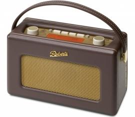 Roberts RD-60 Revival FM en DAB+ retro radio bruin / cocoa