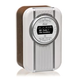View Quest Christie draagbare DAB+ radio met FM en Bluetooth, Brown