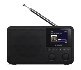 Philips TAPR802 / 12 digitale radio met wifi internet, DAB+, FM, Bluetooth en Spotify