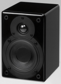 Scansonic S4 mini luidsprekers, zwart