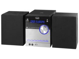 Trevi HCX 10D8 stereo microsysteem met DAB+, FM, CD speler, Bluetooth en USB