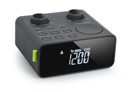 Muse M-197 CDB DAB+ en FM wekker klokradio