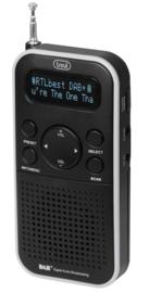Trevi DAB 7F90 R zakradio met DAB+ en FM