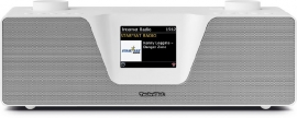 TechniSat DigitRadio 510 stereo radio met internet, DAB+, FM, Spotify, Bluetooth en Multiroom, wit
