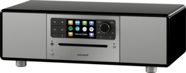 Sonoro Prestige SO-330 V3 stereo internetradio met DAB+, FM, CD, Spotify, Bluetooth en USB, zwart