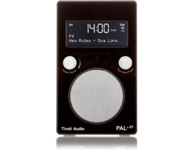 Tivoli Audio Model PAL+ BT oplaadbare radio met DAB+, FM en Bluetooth, zwart-wit