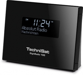 TechniSat DigitRadio 100 mini stereo tuner met Bluetooth, DAB+ en FM voor stereo installaties