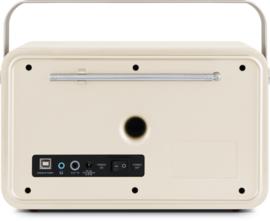 Nordmende Transita 120 oplaadbare draagbare DAB+ en FM radio, beige