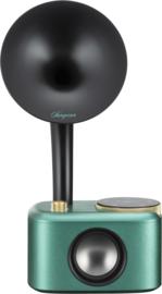 Sangean CP-100D DAB+ en FM retro radio met Bluetooth met ingebouwde accu, Ocean Black
