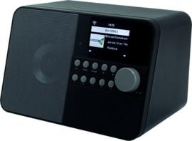 Soundmaster IR6000 SW Internet radio met wekker en weersverwachting, zwart