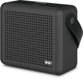 Nordmende Transita 110 draagbare DAB+ en FM radio, antraciet
