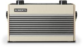 Roberts Rambler BT retro DAB+ radio met FM en Bluetooth, pastel cream