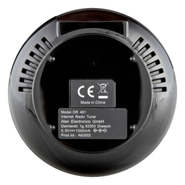 Albrecht DR 461, mini internetradio tuner en streamer