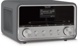 TechniSat DigitRadio 580 stereo internetradio met CD, USB, DAB+ en Bluetooth, antraciet