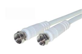 Antenne kabel met 2x F-connector, 10 meter