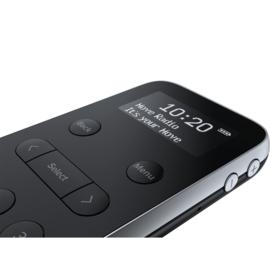 Pure Move R3 zakradio met DAB+ en FM - oplaadbaar, zwart