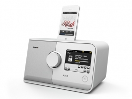 Revo AXiS DAB+ - WIFI - FM - LASTFM - iPod - iPhone (in wit)
