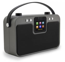 Soundmaster Elite Line IR4400SW stereo draagbare internetradio met DAB+ en Bluetooth, zwart