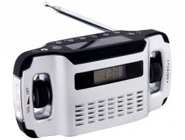 POWERplus Lynx AM / FM opwindbare radio / solar