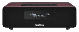 Sangean DDR-36 digitale tafelradio met DAB+, FM en Bluetooth, rood