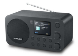 Muse M-128 DBT tafel radio radio met FM, DAB+ en Bluetooth
