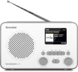 TechniSat TECHNIRADIO 6 IR digitale portable radio met DAB+, FM en internet, wit