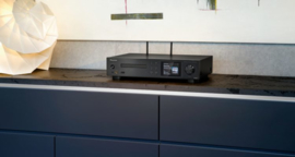 Pioneer NC-50DAB stereo receiver / netwerkspeler met DAB+ en CD, zwart