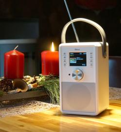 Block CR-10 ToGo! oplaadbare Smartradio met DAB+, internet, USB en Spotify, wit