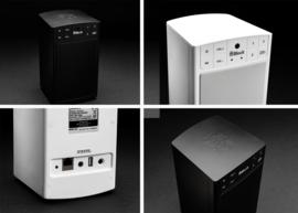 Block ABC - type A netwerk luidspreker met internet radio, Spotify, Bluetooth, USB en mulitroom, zwart
