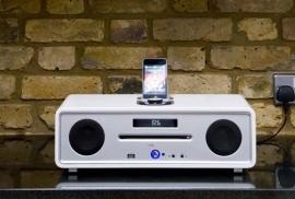 Vita Audio R4i Audio Systeem met CD, iDock, DAB+ en FM in hoogglans wit