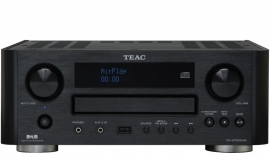 Teac CR-H700DAB receiver met internetradio, DAB+, AM, FM en CD / USB