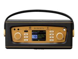 Roberts Revival iStream 3 internetradio, DAB+, FM, USB, Spotify, Alexa en Bluetooth, zwart