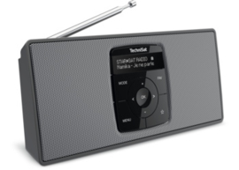 TechniSat DIGITRADIO 2 S draagbare DAB+/FM stereo radio met Bluetooth audio streaming