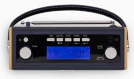 Roberts Rambler BT STEREO retro DAB+ radio met FM en Bluetooth, Navy Blue