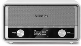 TechniSat DigitRadio 520 retro internetradio met DAB+, Bluetooth en Spotify, wit