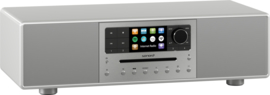 sonoro MEISTERSTÜCK SO-610 V4 stereo internetradio all-in-one muzieksysteem, zilver