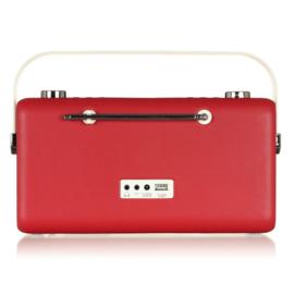 View Quest Hepburn MK 2 DAB+ radio met FM en Bluetooth, Red