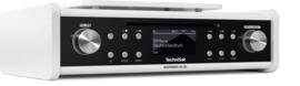 Technisat DigitRadio 20 CD stereo onderbouw radio met DAB+, FM en CD, wit