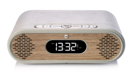 View Quest Rosie-Lee DAB+ wekkerradio met FM en Bluetooth,  Light Grey Green Grass Oak
