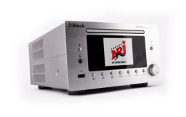 Block MHF-900 SOLO hifi stereo systeem met DAB +, FM en Internet Radio, CD speler en bluetooth, zilver