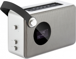 Imperial DABMAN BT40, DAB+, FM met Bluetooth, zilver