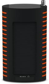 TechniSat TechniRadio Solar portable DAB+ en FM radio met ingebouwde zonnepaneel en oplaadbare accu, oranje