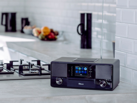 Block SR-50 Smartradio all-in-one stereo 2.1 radio met CD, internetradio, DAB+, Spotify, USB en Bluetooth, zwart