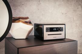 Sonoro Qubo muzieksysteem met DAB+, FM, CD en Bluetooth, zwart