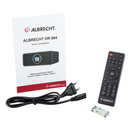Albrecht DR 884 hybride stereo internetradio met DAB+, FM en USB