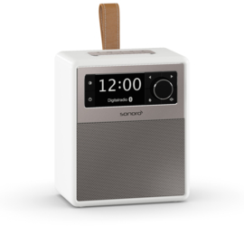 Sonoro EASY SO-120 V2 draagbare DAB+ / FM radio met Bluetooth ontvangst, wit