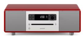 sonoro STEREO 2 SO-320 2.1 stereo muzieksysteem met DAB+ en FM, CD speler, USB en Bluetooth, hoogglans rood