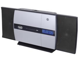 Trevi HCV 10D35 stereo microsysteem met DAB+, FM, CD speler, Bluetooth en USB