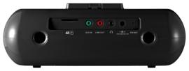 Sangean DCR-10 DAB+ / FM Bluetooth stereo wekker radio met docking en opname, zwart